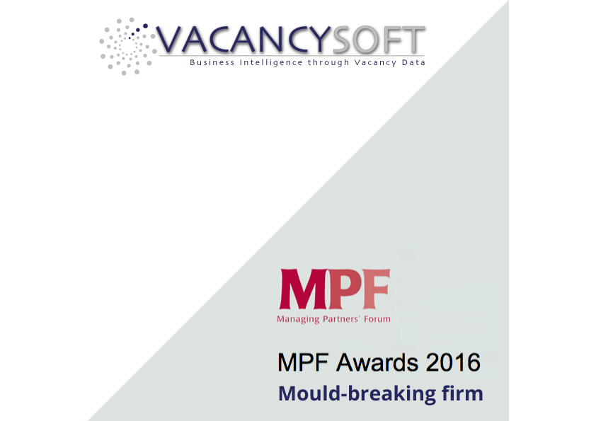 Vacancysoft to be a sponsor of the MPF awards!