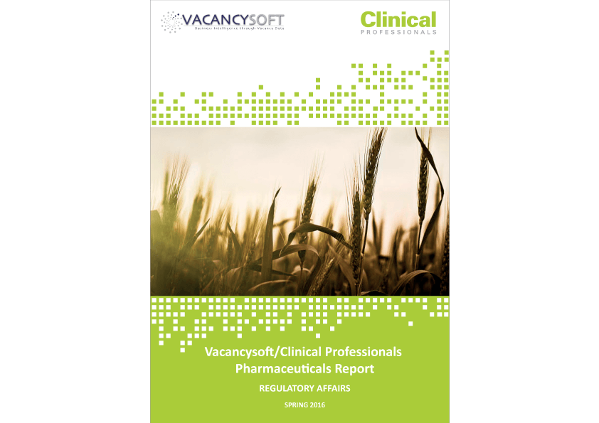 Vacancysoft_ClinicalProfessionals_Pharmaceuticals_Report_Spring2016