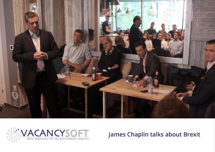 James Chaplin talks about Brexit