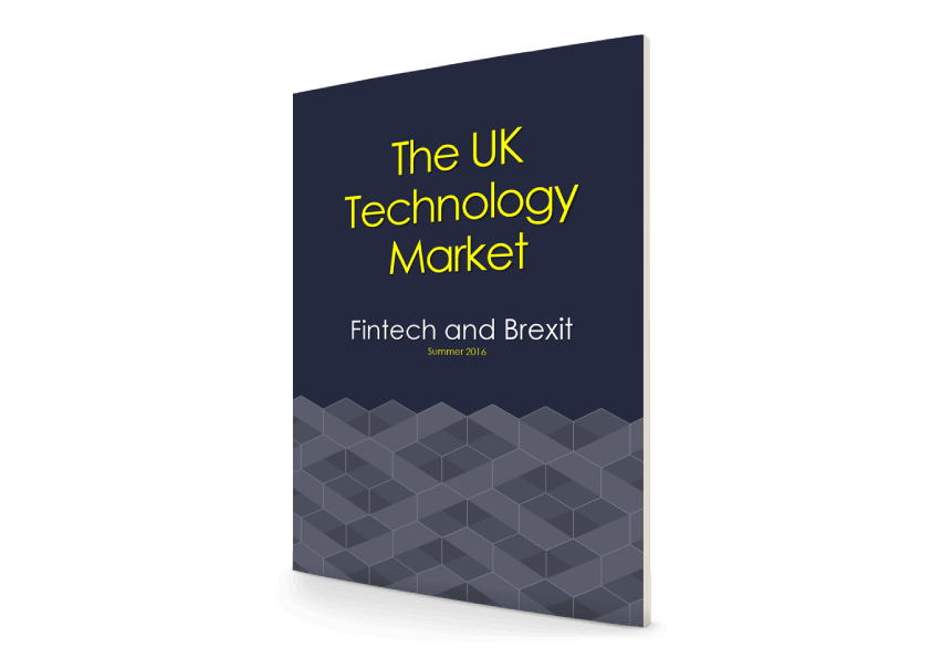 Technology Report – Fintech and Brexit