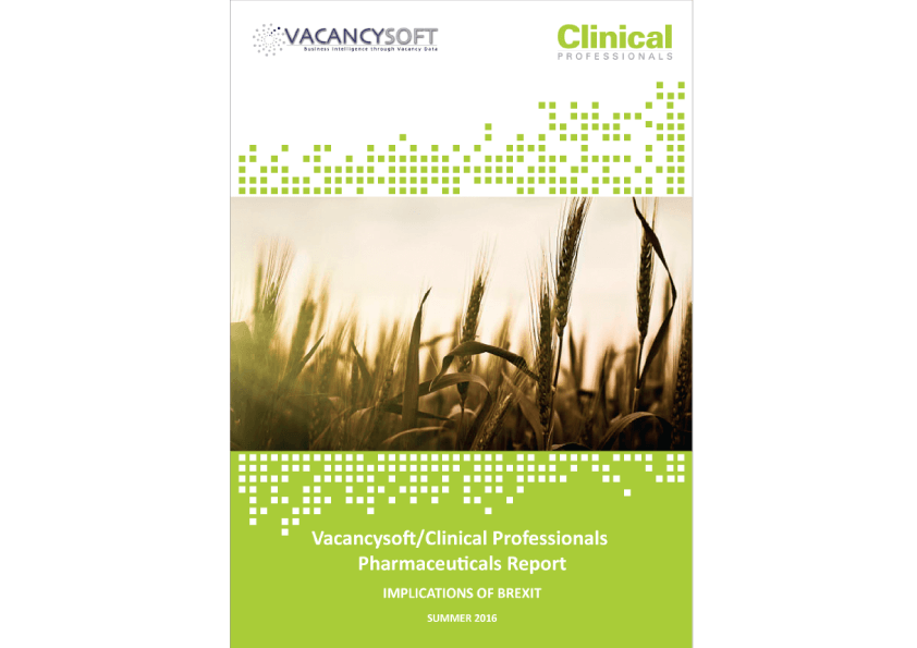 Vacancysoft Clinical Professionals Report Brexit