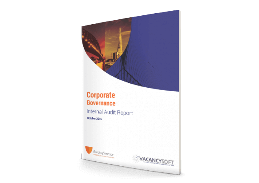 Corporate Governance Report – Internal Audit