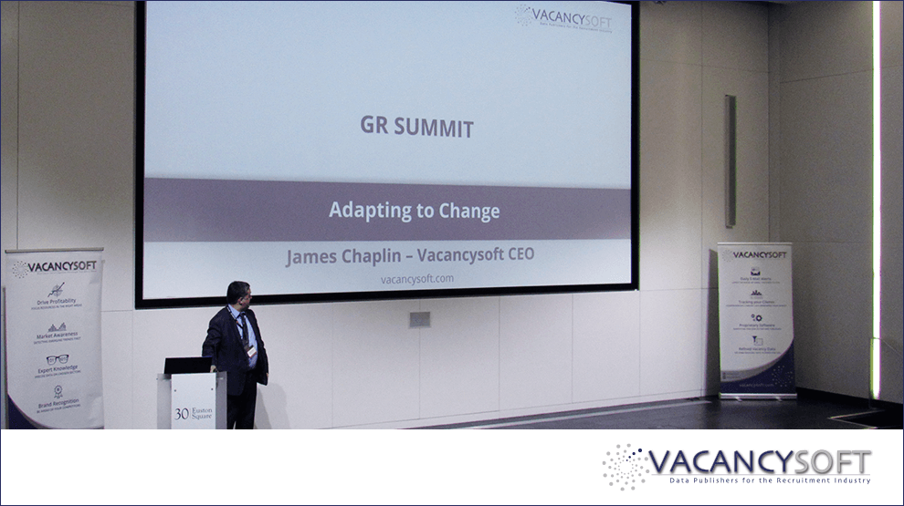 Adapting to change – a presentation by James Chaplin