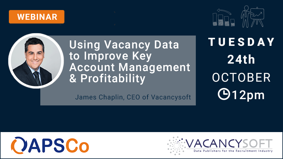 Increase profitability using vacancy data. Join this webinar