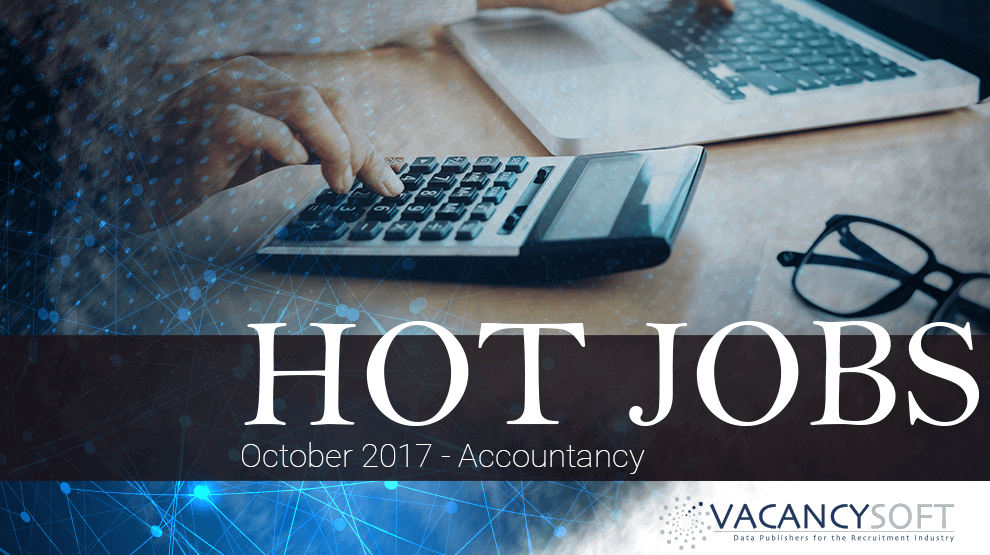 Hot Jobs October – Accountancy
