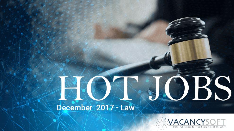 Hot Jobs December – Law