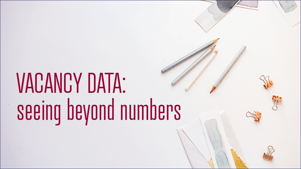 Vacancy data: seeing beyond numbers