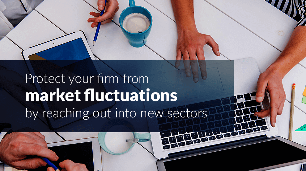 Protect your firm from market fluctuations by reaching out into new sectors