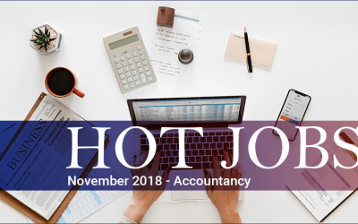 Hot Jobs November 2018 – Accountancy