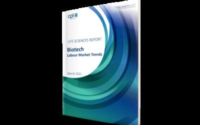 Biotech – UK Life Sciences Labour Market Focus, March 2021