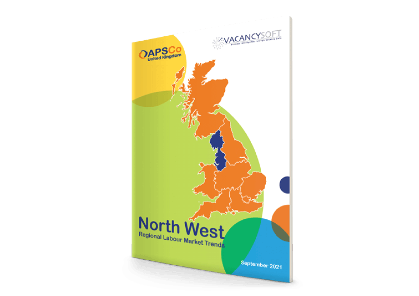 North West – UK Regional Labour Market Trends, Sept 2021