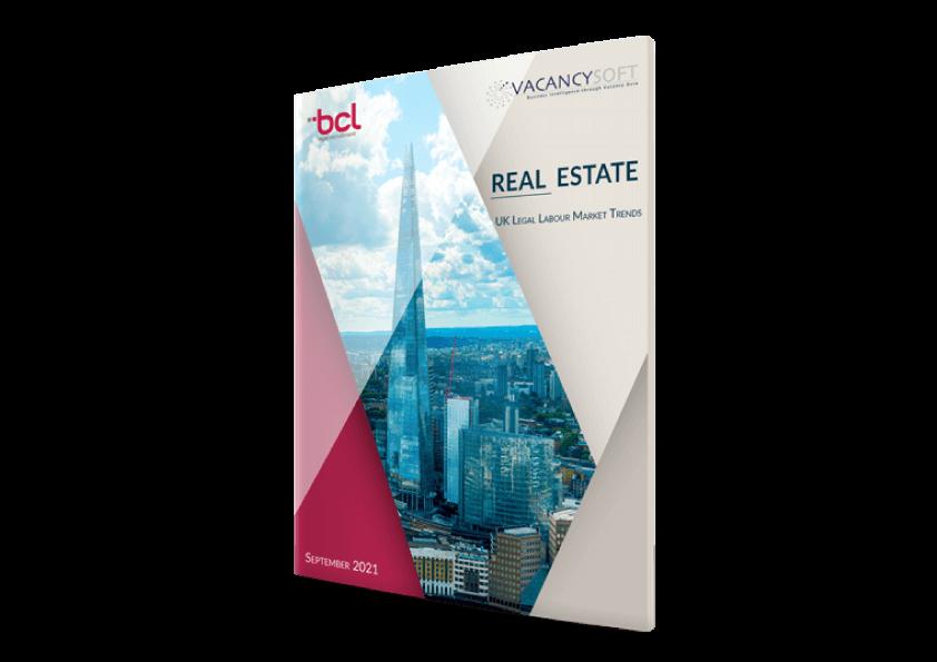 Real Estate – UK Legal Labour Market Trends, Sept 2021